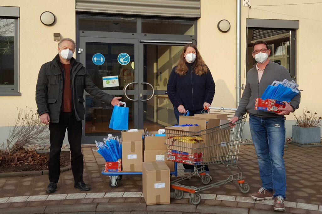 NRD VRFF-Aktion Blaue Tüten für Personalratswahl